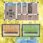 Gartenhaus mit 4 Räumen und Gemüsebeet, Dusche , WC, Werkbank und Küche