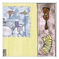 Musikzimmer einrichten im Gartenhaus: Instumententisch - Instrumentenwerkstatt