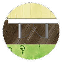 6 Eck Gartenhaus zum Gamer, zocken: Doppelflügeltür