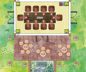 Gartenhaus als Konferenzraum planen