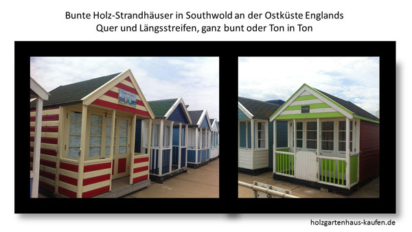 Bunte Farbgestaltung Für Strandhäuser Gartenhäuser: Foto Beispiel