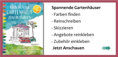 Buch: Gartenhaus, Hütte planen und skizzieren
